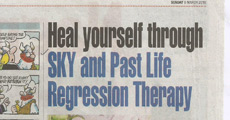 Heal yourself through SKY and Past Life Regression Therapy