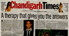 Chandigarh Times- A Therapy That Gives You The Answers