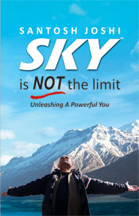 SKY is NOT the limit Book by Santosh Joshi