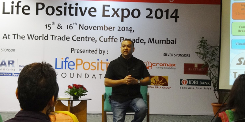Santosh Joshi at Life Positive